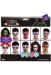 Set di Trucchi Deluxe Halloween fino a 10 creazioni