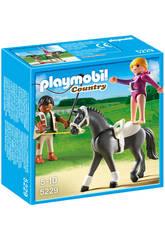 Playmobil  entraînement de chevaux