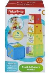 Bloques Fisher Price Apila y Descubre Mattel CDC52