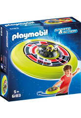 Playmobil Disque Volant Cosmique avec Astronaute 6183