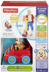 Fisher Price Coche Interactivo de Perrito Mattel DLD86