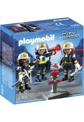 Playmobil Équipe de Pompiers