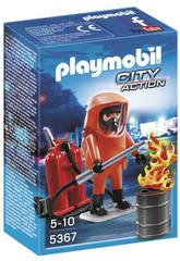 Playmobil Especialista em Extinção de Incéndios