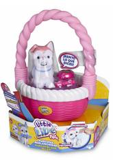 Little Live Pets Cesta y Mascotas