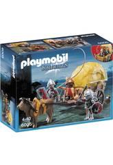 Playmobil Chevalier du Faucon avec Carrosse