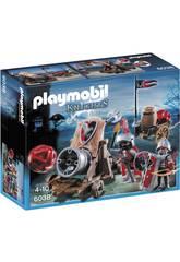 Playmobil Hawk Knights mit Kanone