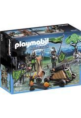 Playmobil Cavaleiros do Lobo com Catapulta