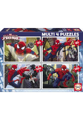 Puzzle 50-80-100-150 Ultimate Spiderman Educa 15642