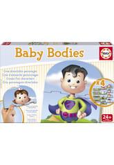 Brettspiel Baby Bodies Educa 16222