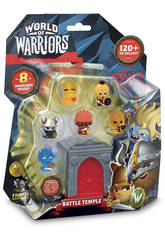 World Of Warriors Blister 8 Figuras + 1 Torre