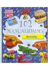100 Travaux manuels... (3 Livres) Susaeta Editions