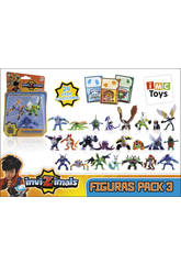 Invizimals Pack 3 Figures