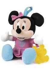 Baby Minnie Peluche Alegres Canciones con Mordedor Clementoni 65978