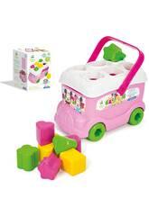Baby Minnie Autobús Formas y Colores