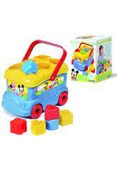 Baby Disney Autobus Formes et Couleurs