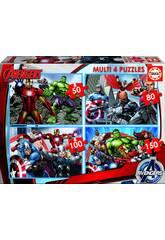 Puzzle 50-80-100-150 Avengers Educa 16331