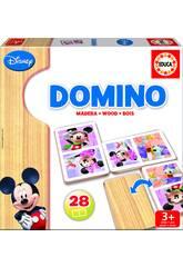 Domino en bois Mickey et Minnie