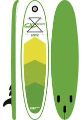 Stand- Up Paddle Board Raider 300x75x10 cm Ociotrends WH300-10