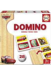 Domino en bois Cars