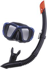 Gafas de Buceo Con Tubo Black Sea