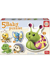Baby Puzzle Animali del Bosco Educa 15892