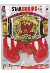 WWE Ceinture de Champion et Gants de Boxe