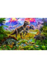 PUZZLE 500 Encontro de Dinossauros 34x48 cm EDUCA 15969