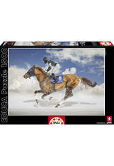 Puzzle 1500 Final de White Turf, Saint Moritz