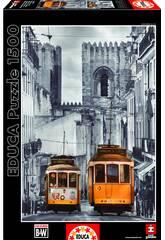 Puzzle 1500 Barrio de la Alfama, Lisboa Educa 16311