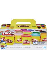 Playdoh Pack Super Couleur 20 Pots