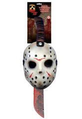 Maske und Messer Set Jason Rubies 8785