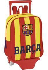 Barcelona 2ªequipacion mochila guarderia ruedas