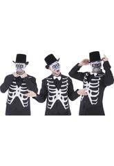 Masque Squelette Demi-figure
