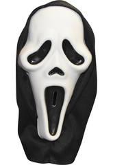 Máscara Scream Capucha Rubies S5092