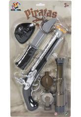 Pistolet Pirate avec Accessoires 5 pièces