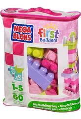 Mega Bloks bolsa 60 Rosa