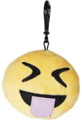 Emoticon Schlüsselanhänger 9,5 cm.
