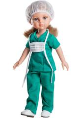 Puppe 32 cm Carla Krankenschwester Freunde Hobbys