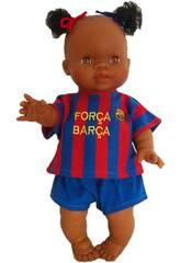 Boneca 34 cm. Gordi Menina Barça Paola Reina 34049