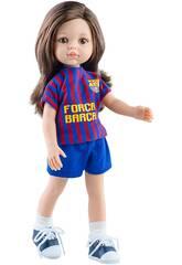 Paol Reina - bambola 32 cm- collezione Las Amigas- Barça