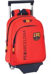 Mochila Infantil con Ruedas F.C. Barcelona 14-15