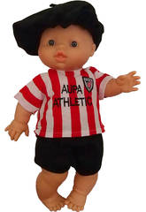 Muñeco 34 cm Gordi Niño Athletic de Bilbao