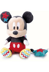 Disney Baby Mickey y Minnie Peluche Musical 24 cm. Famosa 760013414