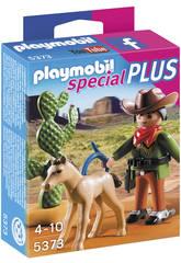 Playmobil Vaquero con Potro
