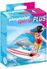 Playmobil Surfista con Tavola da Surf