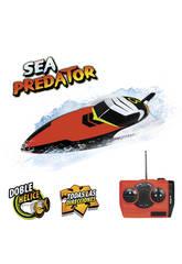 Motoscafo telecomandato Sea Predator Doppia elica