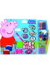 Giga Block Peppa Pig 5 in 1