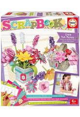 Scrapbook Set Decorazioni Floreali Educa 16982