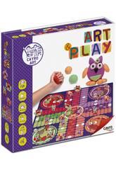Spiel Basteln Art Play Parchís Eulen Cayro 815