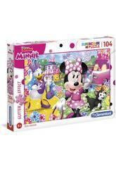 Puzzle Minnie Happy Glitter 104 Puzzle Clementoni 20146